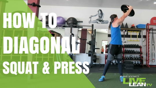 How To Do A Diagonal Squat And Press | Exercise Video and Guide