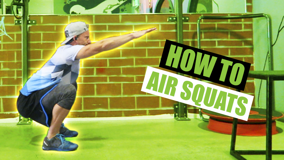 How To Do AIR SQUATS | Exercise Demonstration Video and Guide
