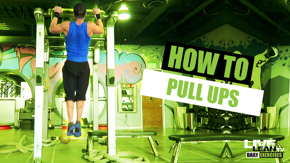How To Do A PULL UP   Exercise Demonstration Video and Guide