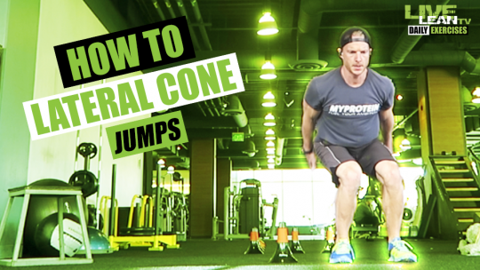 How To Do LATERAL CONE JUMPS | Exercise Demonstration Video and Guide