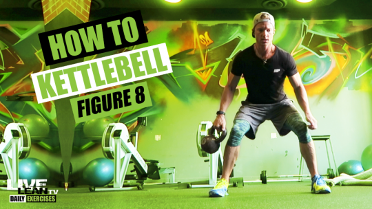 How To Do A KETTLEBELL FIGURE 8 | Exercise Demonstration Video and Guide