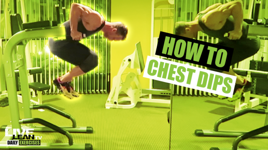 How To Do CHEST DIPS   Exercise Demonstration Video and Guide