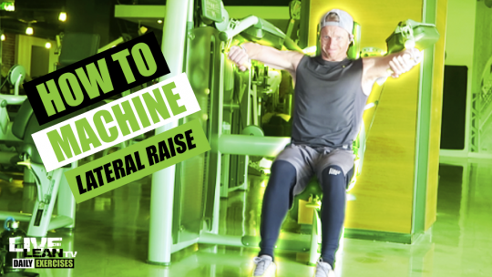 How To Do A MACHINE LATERAL RAISE | Exercise Demonstration Video and Guide