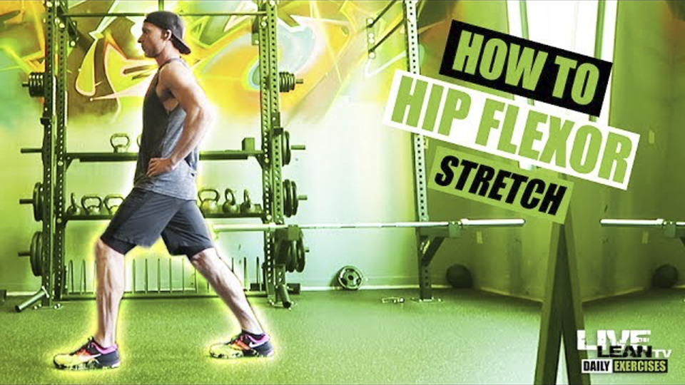 How To Do A STANDING HIP FLEXOR STRETCH | Exercise Demonstration Video and Guide