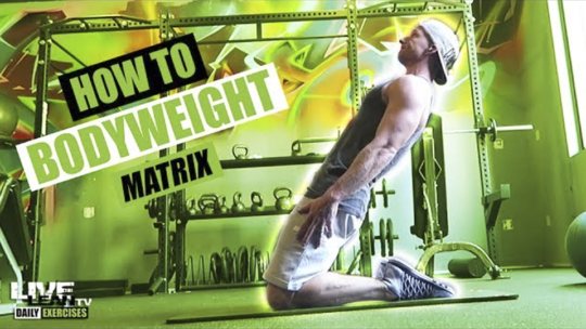 How To Do THE BODYWEIGHT MATRIX | Exercise Demonstration Video and Guide