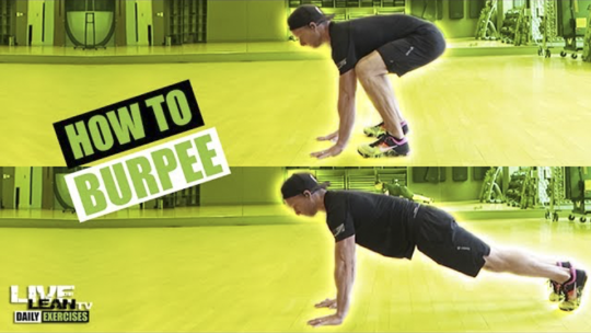 How To Do A BURPEE | Exercise Demonstration Video and Guide
