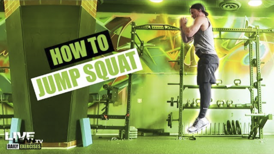 How To Do A JUMP SQUAT | Exercise Demonstration Video and Guide