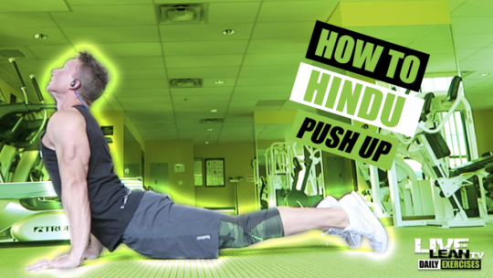 How To Do A HINDU PUSH UP | Exercise Demonstration Video and Guide