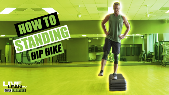 How To Do A STANDING HIP HIKE | Exercise Demonstration Video and Guide