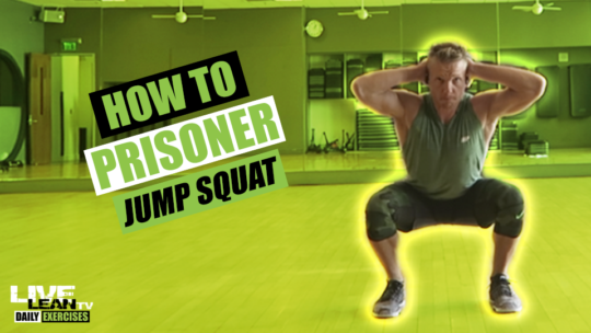 How To Do A PRISONER JUMP SQUAT | Exercise Demonstration Video and Guide