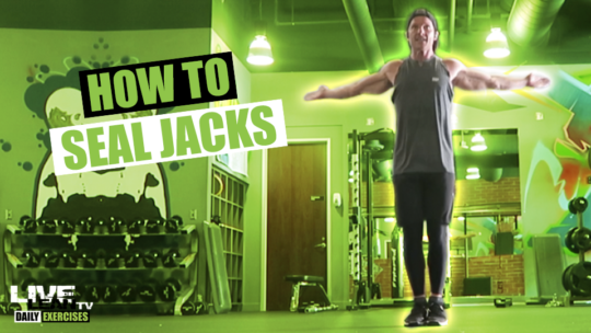 How To Do SEAL JACKS | Exercise Demonstration Video and Guide