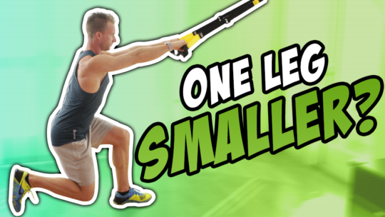 How To Do A TRX SINGLE LEG LUNGE | Exercise Demo