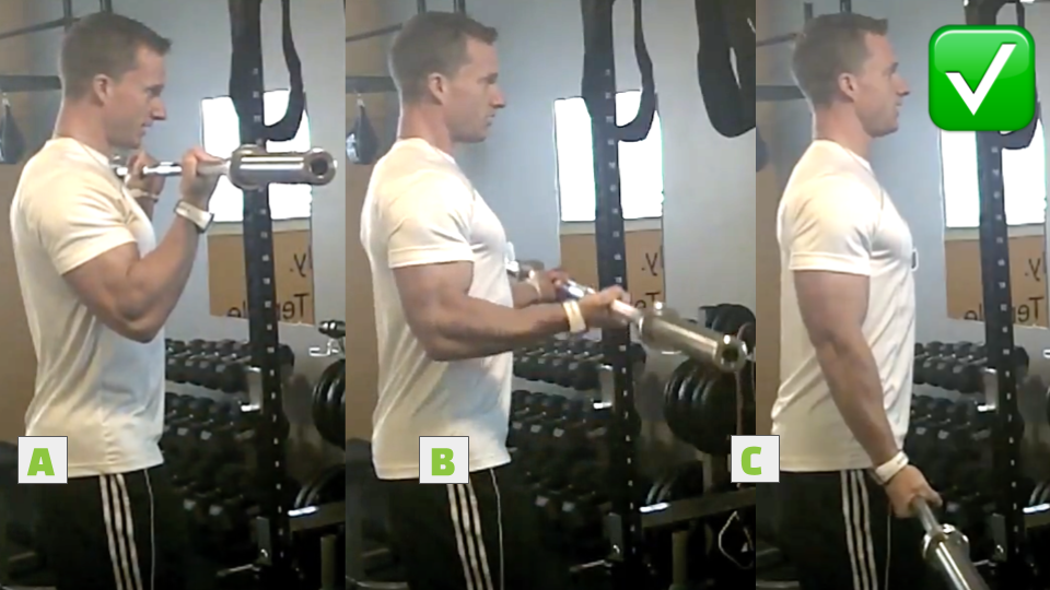 Stop Making This Common Bicep Curl Mistake