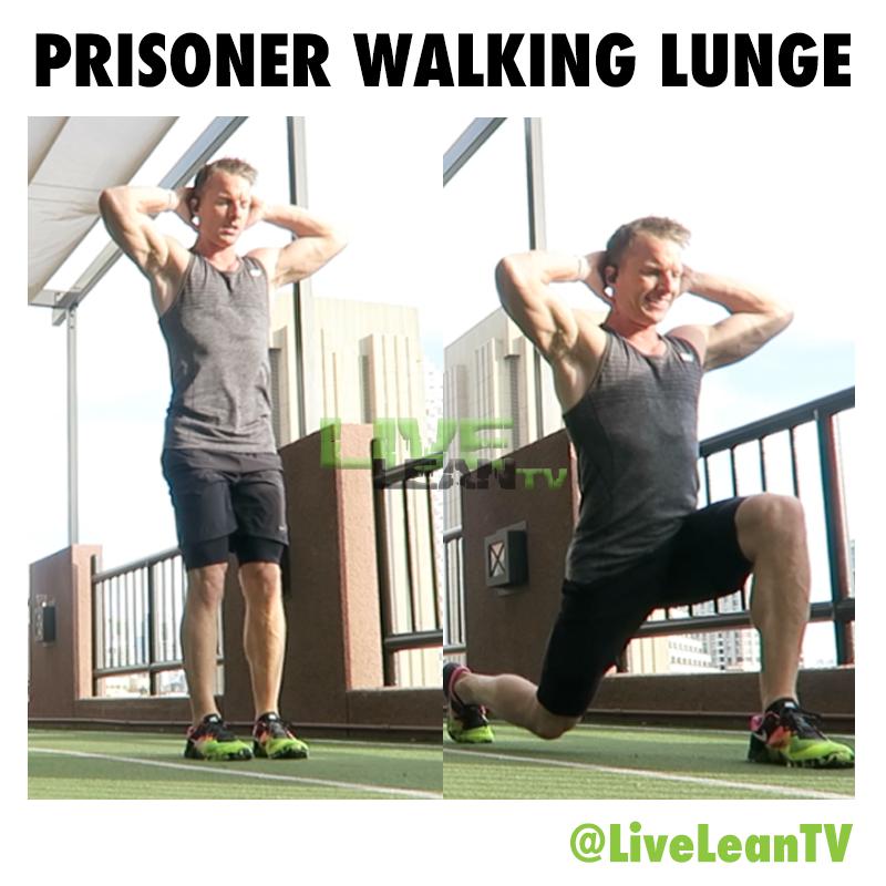 Prisoner Walking Lunge