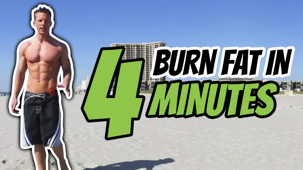4 Minutes: Fat Burning Tabata Workout [HIIT For Fat Loss]