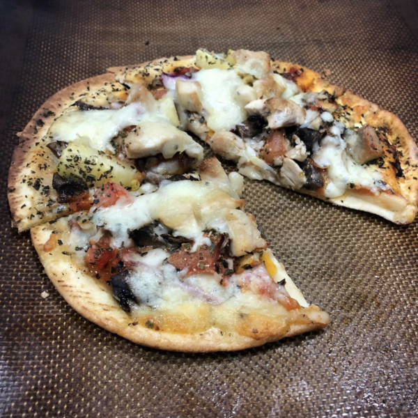 muscle building pizza recipe
