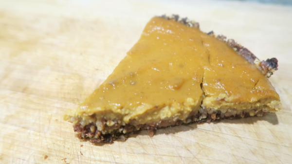 Homemade Pumpkin Cheesecake Recipe