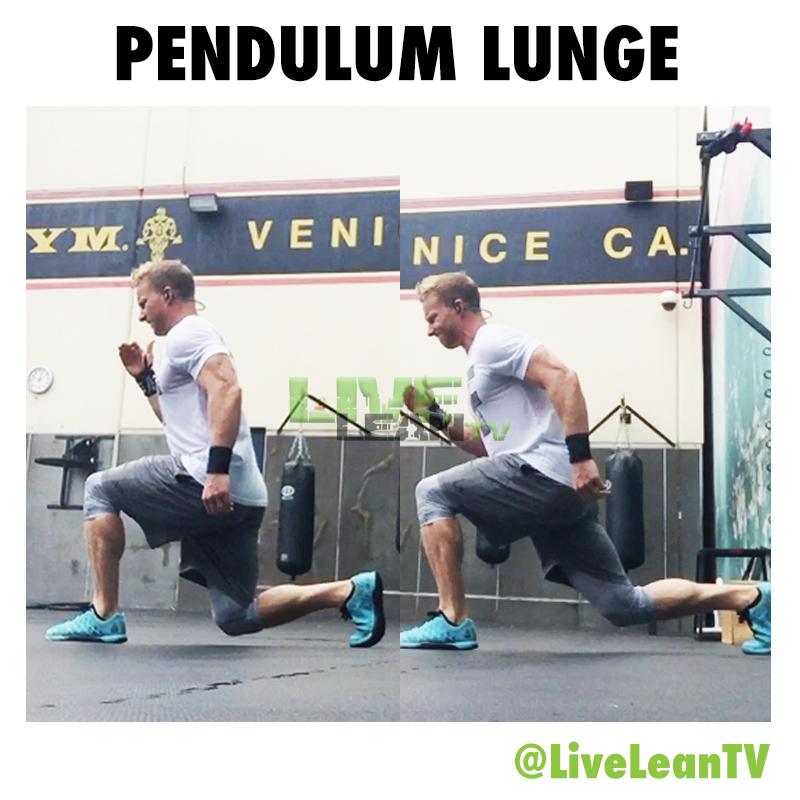 PENDULUM LUNGE