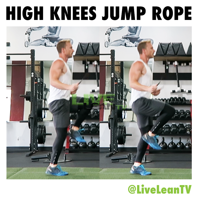 HIGH KNEES JUMP ROPE
