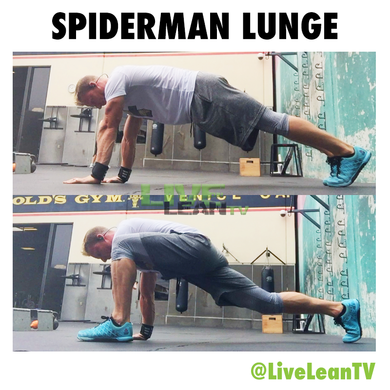 SPIDERMAN LUNGE