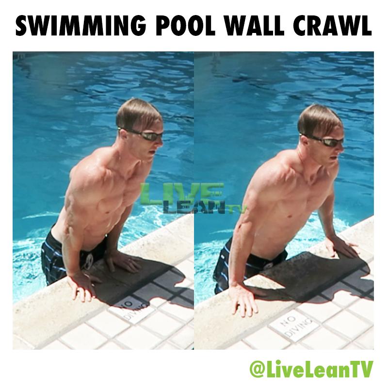 Swimming Pool Wall Crawl