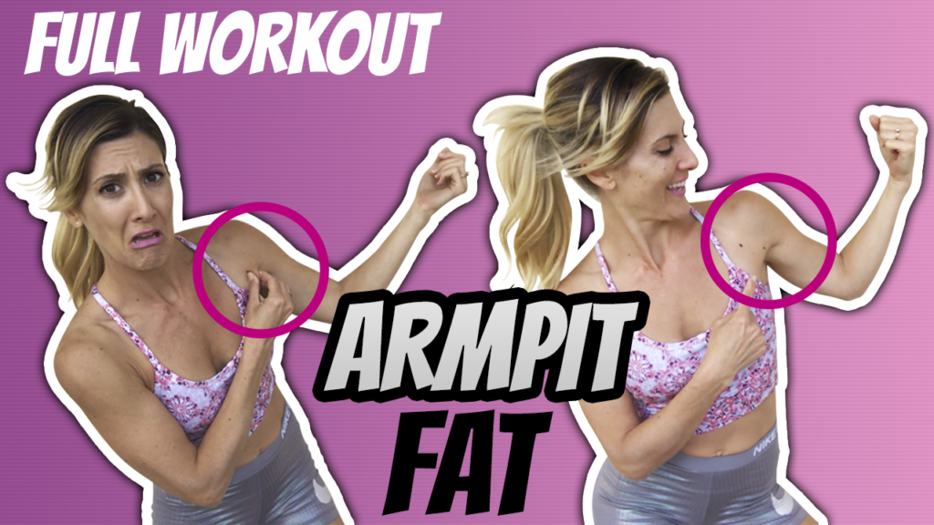 How To Reduce Armpit Fat For Women And Men
