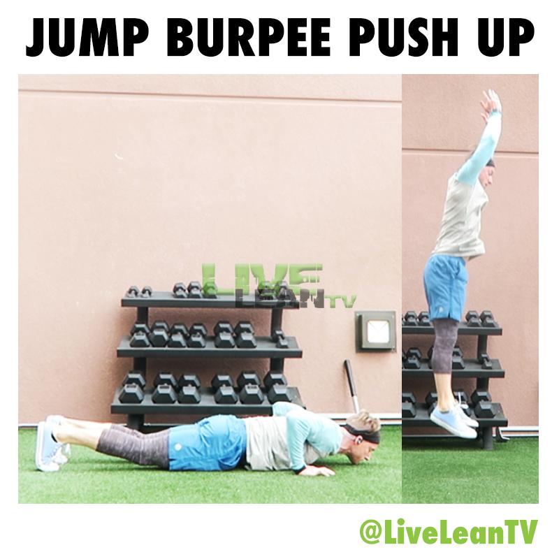 JUMP BURPEE PUSH UP