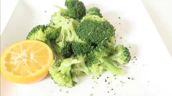 Lemon Pepper Broccoli