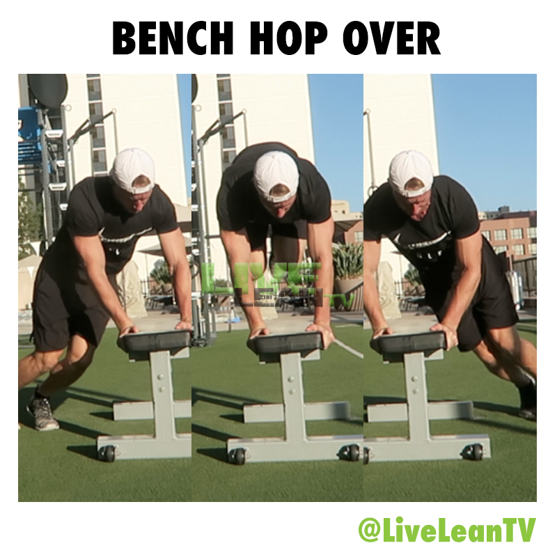 Bench Hop Over