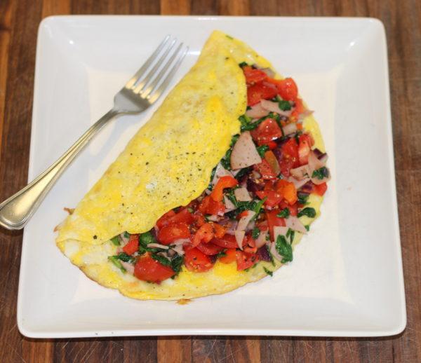 Tasty Western Omelette