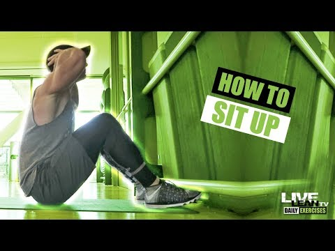 How To Do Sit Ups Correctly For Beginners