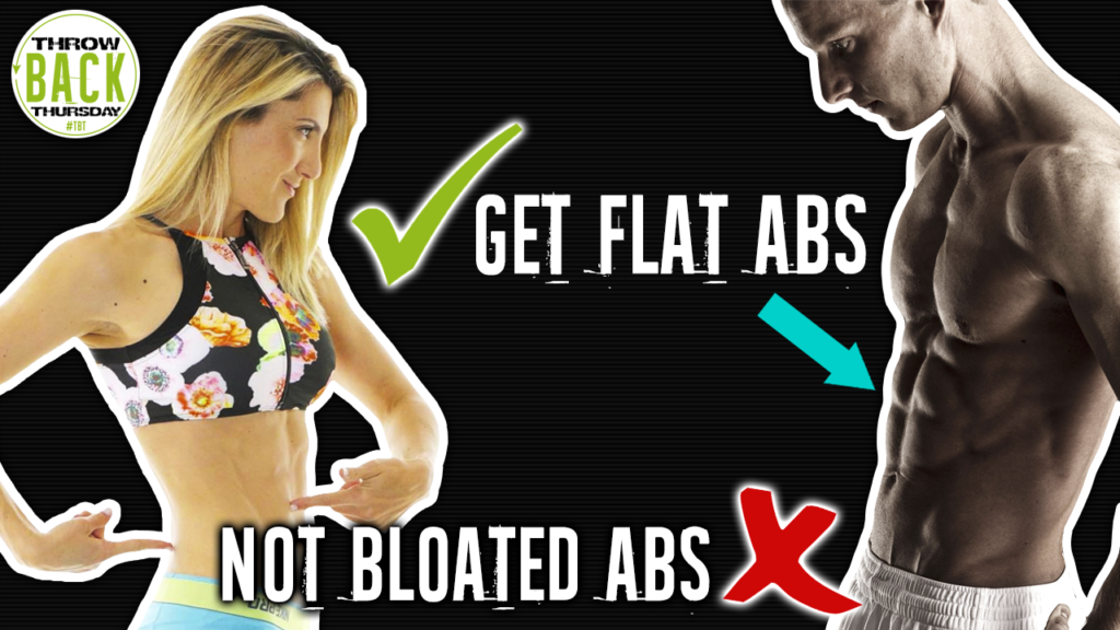 How To Fix Bloated Abs
