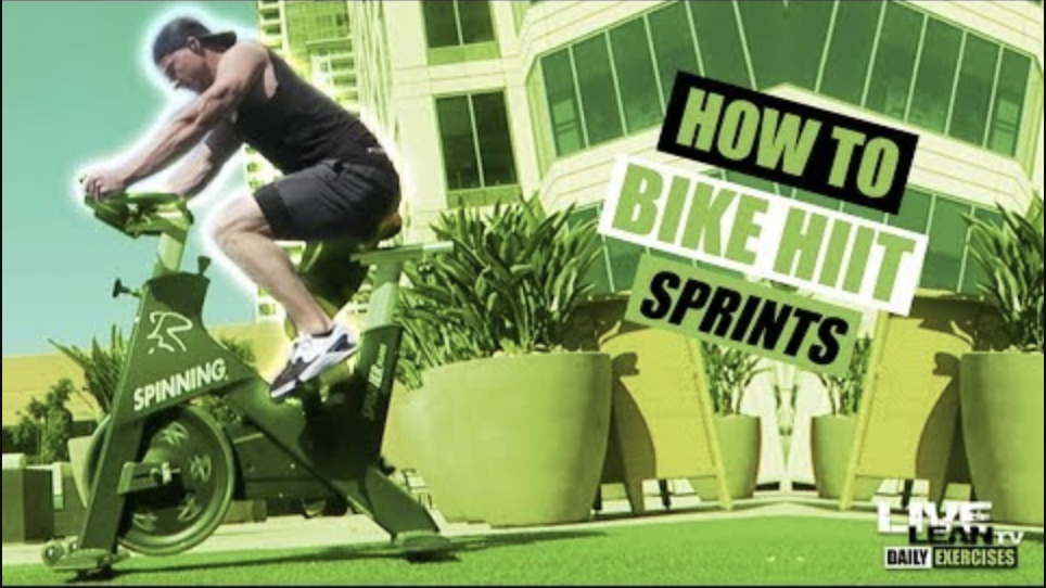 How To Do BIKE HIIT SPRINTS | Exercise Demonstration Video and Guide