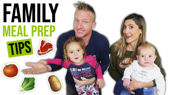 6 Healthy Meal Prep Tips For Families With Kids