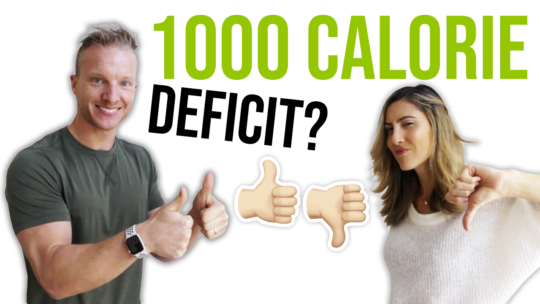 Is A 1000 Calorie Deficit A Day Healthy For Weight Loss?