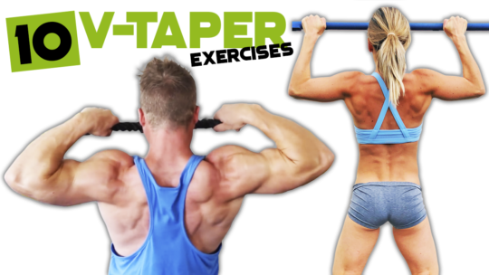 How To Get A V-Taper Body
