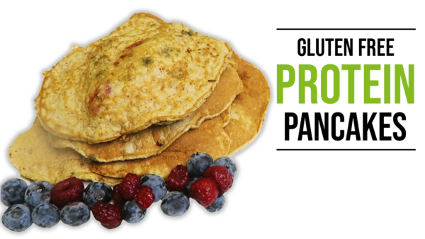 how to make a gluten free protein pancake recipe without protein powder