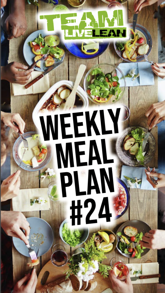 What Is Team Live Lean Meal Plan
