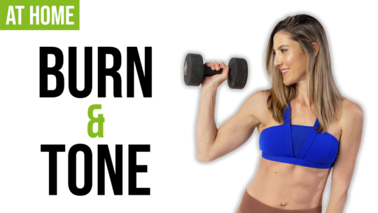 Fat Burning And Toning Full Body Dumbbell Workout At Home