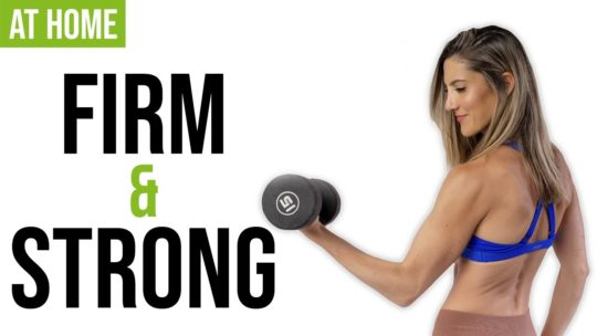 Full Body Home Dumbbell Workout To Get Strong And Firm
