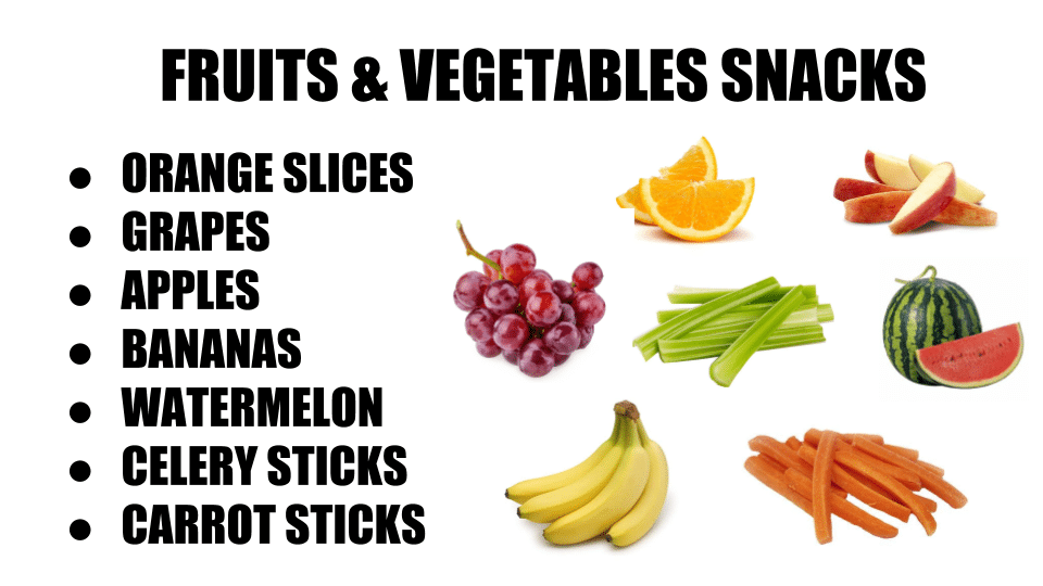 Healthy On The Go Snack Ideas