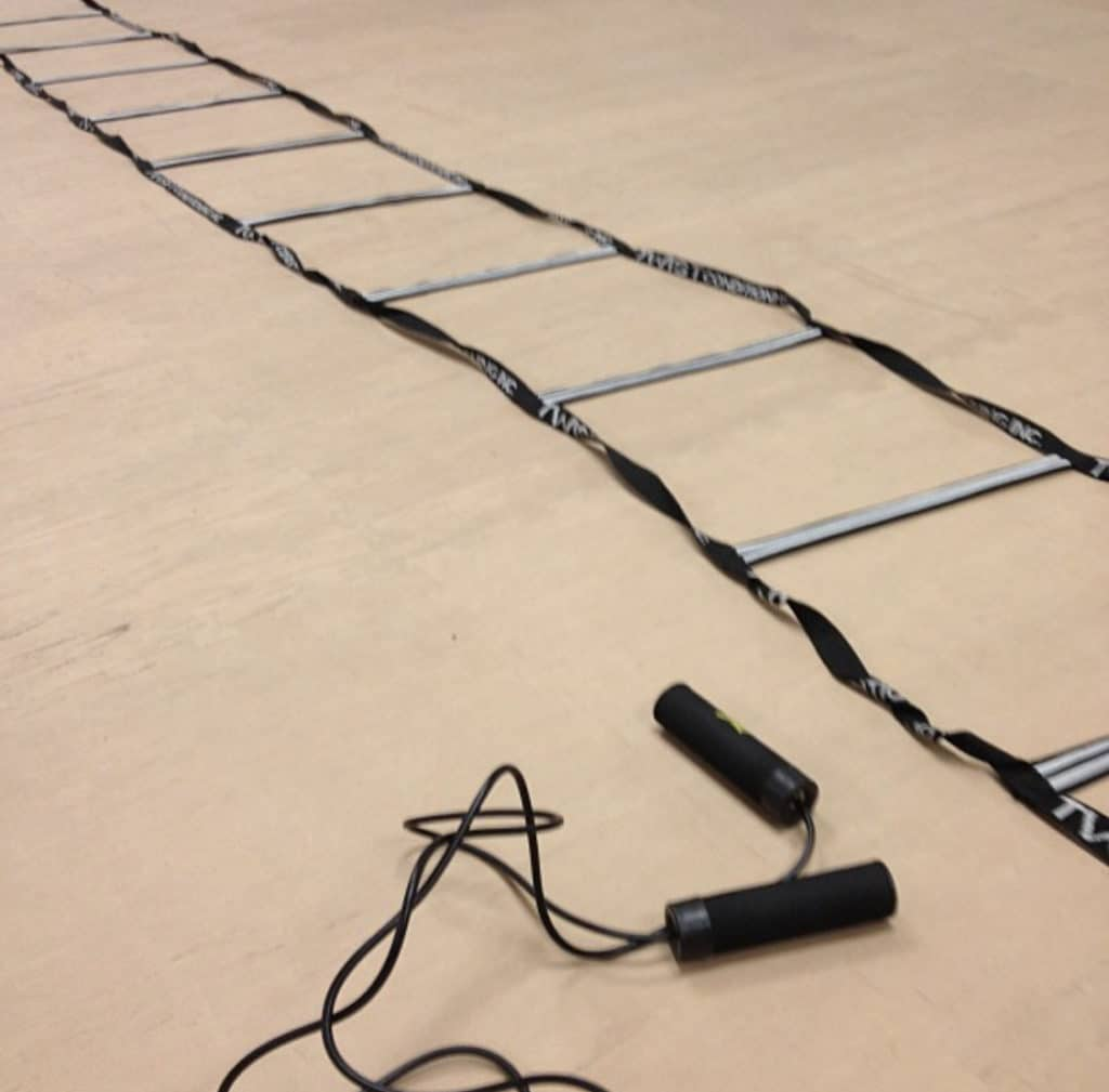 jump rope agility ladder