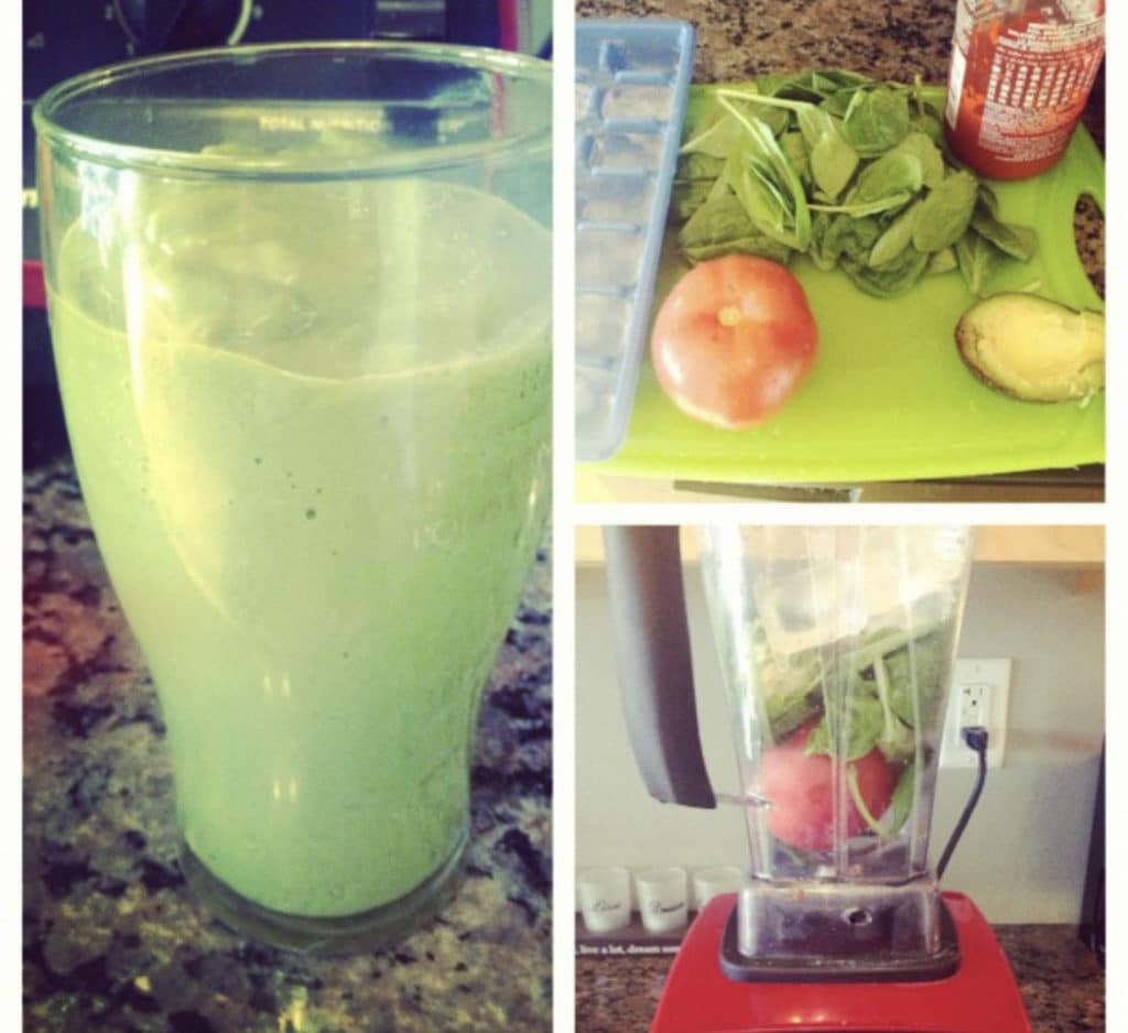 How To Make A Vegetable Protein Smoothie