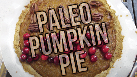 How To Make Paleo Pumpkin Pie