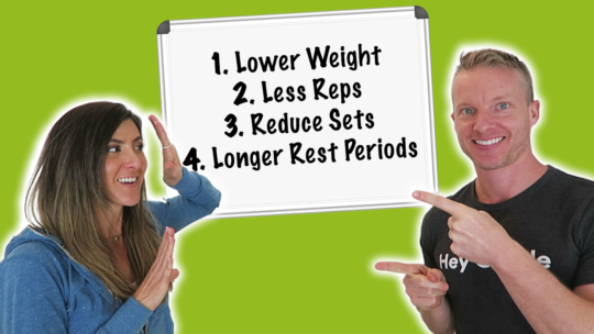How To Make A Workout Easier For Overweight Beginners