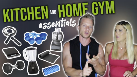 8 Essential Kitchen Items And Home Gym Equipment For Beginners