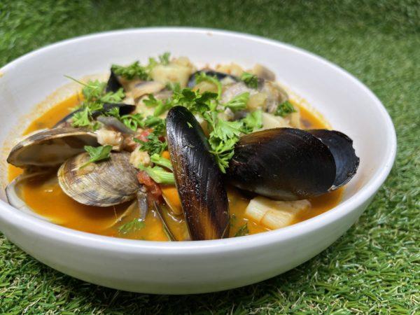 Seafood Chowder Gainz